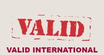 VALID INTERNATIONAL with name for website