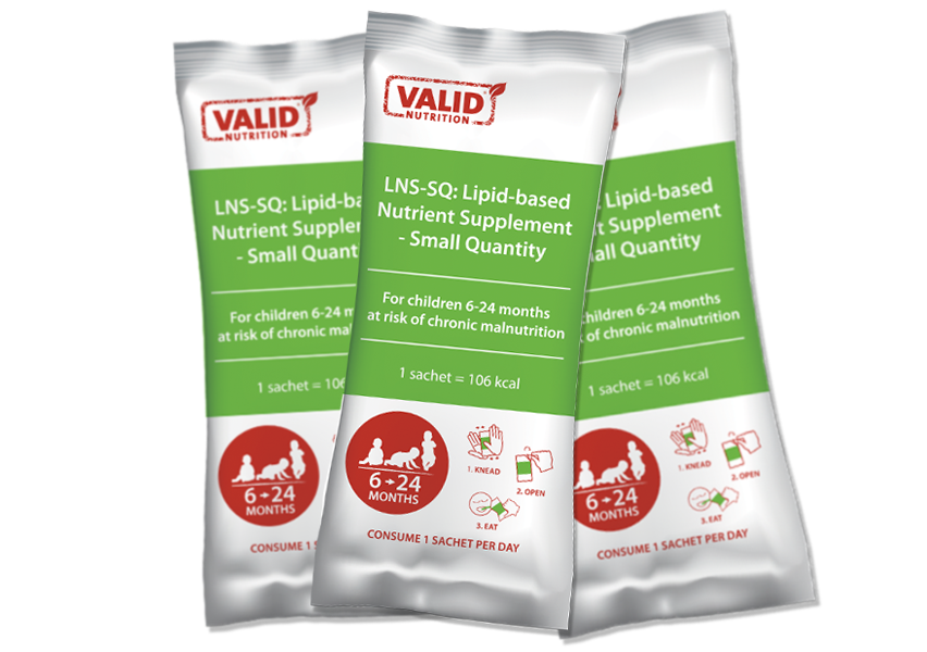 Valid Nutrition launch new Ready-to-Use Complementary Food (RUCF)